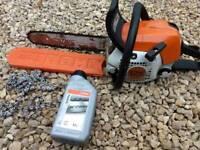Stihl MS 211C petrol chainsaw in fantastic condition.