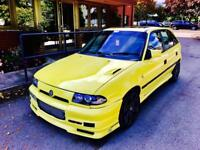 ASTRA GSI Saab turbo b204 not vxr Cupra gti gtd vrs replica fr wrx red top