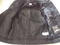 Child's leather effect jacket size 7years