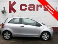 ONLY GROUP 1 INSURANCE 2007 TOYOTA YARIS 1.0 ION LONG MOT SERVICE HISTORY