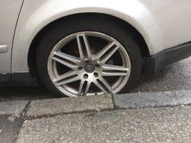 """Audi rs4 alloy wheels 19"""" Rims. Original."""