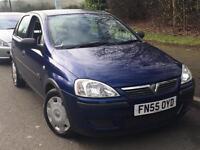 Vauxhall Corsa 1.2 2006 + FULL SERVICE HISTORY + 12 MONTHS MOT + LOW MILES