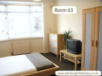 RM63 Edinburgh Flatshare - NO DEPOSIT - ALL BILLS INCLUDED IN WEEKLY RENT