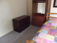 Furniture Clearance Two sofas/double bed/mattress/bedding/chestsof drawers/wardrobes. No whitegoods