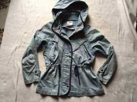 Tonlion ladies cotton coat jacket size M/12 good condition £5