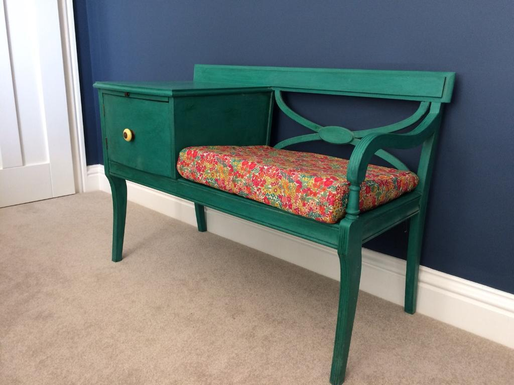 Upcycled Telephone Table Chair