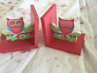 Sass & Belle Owl & Branch Bookends
