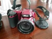 Nikon bridge camera coolpixL810 model