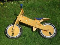 LIKEaBIKE wooden balance bike