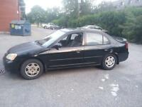 2001 Honda Civic tres bonne condition mecanique A1