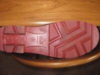 VITAL SITEMASTER SAFETY WELLINGTONS- UNUSED_NEW !!