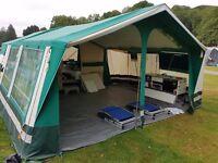 SunnCamp 350E Trailer Tent 2012