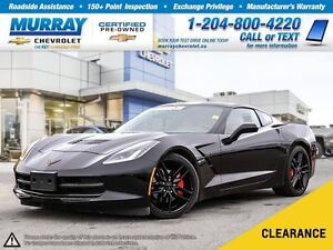 2016 Chevrolet Corvette Stingray *Leather Seats, Remote Start, O