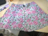 H&M summery short flared/Aline skirt