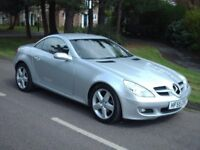 AUTOMATIC MERCEDES SLK CONVERTIBLE.1800CC 55PLATE