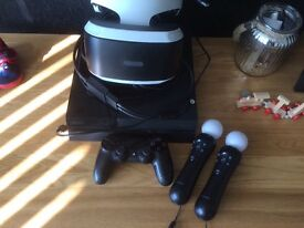 PlayStation 4 with complete VR bundle