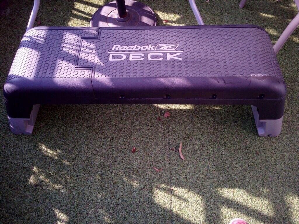 272a16f18e5 Reebok Deck exercise bench