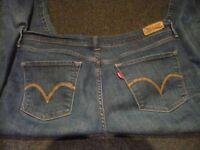 Ladies Levis jeans for sale