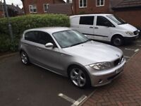 BMW 1 Series 2.0 120d SE 5dr - new tyres, new battery, black leather seats, very good condition