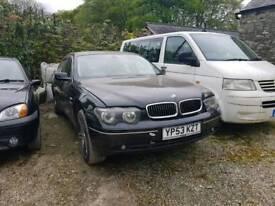 BMW 730D SPARES OR REPAIRS
