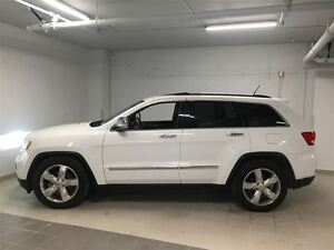 2013 Jeep Grand Cherokee OVERLAND 1 OWNER CLEAN CARPROOF 2 SET W