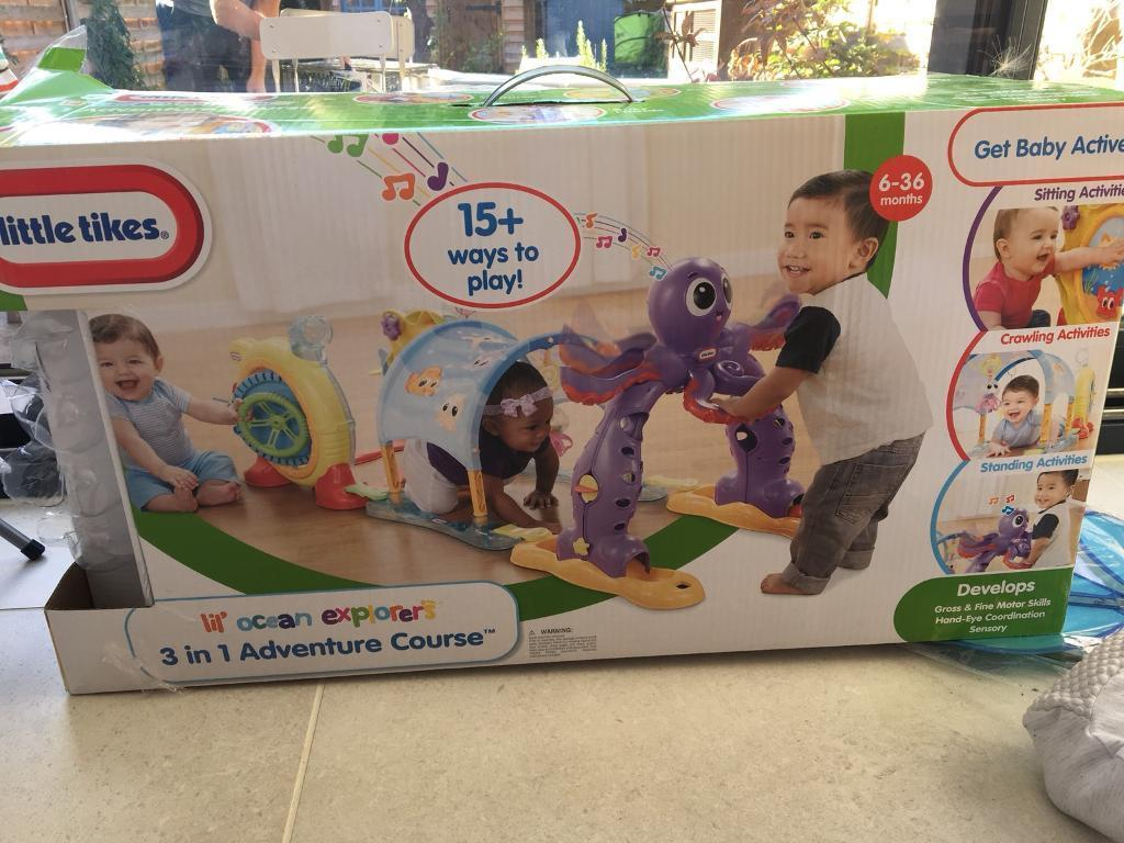 Little tikes children's adventure course play toy