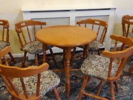 Tables with 4 chairs in sets