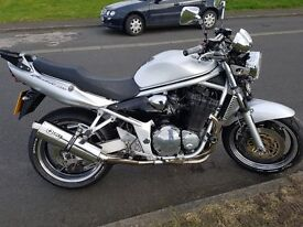 hi here is a nice 1200 bandit for sale on a 55 plate