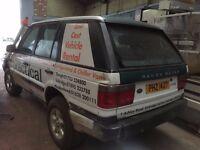 Range Rover 4.0 Off Road 4 x 4