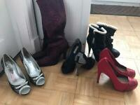 Size 4 shoes/Boots