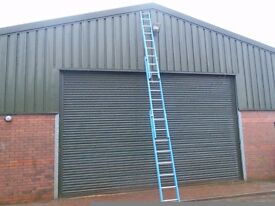 triple trade fibreglass ladder