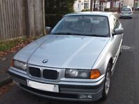 1998 BMW 323i E36 Silver with light grey leather interior. Lovely condition