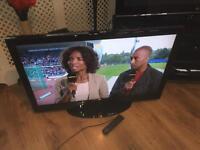 "Technika 40"" lcd TV free view HDMI vga scart ect"