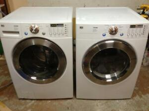 9 -  Laveuse Sécheuse Frontales - LG  Frontload  Washer Dryer