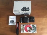 Canon EOS 7D SLR Camera (Boxed + Manual) *plus free Camera Bag