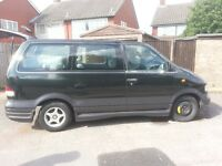 NISSAN LARGO PEOPLE CARRIER 1996 2.2 DIESEL AUTOMATIC