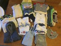Massive baby boy bundle of clothes 0-3 months.New and used items.
