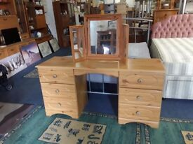 Pine desk,,,, dressing table?