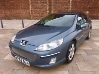 2005 PEUGEOT 407 DIESEL ++ ALLOY WHEELS ++ ELECTRIC WINDOWS ++ CD ++ AIR CON ++ DECEMBER MOT.