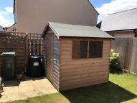Garden shed, 2 years old, great condition and already dismantled ready to go