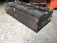 Old vintage carpenters tool box