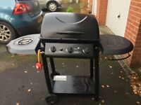 Blooma gas fired BBQ with side burner