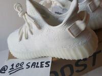 bcdbd0c4b50 Adidas x Kanye West Yeezy Boost 350 V2 Triple White UK5.5 US6