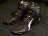 Dainese Dyno C2b Shoes Nero/Black, NEW! (UK 8)