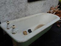 Free - big old iron bath.