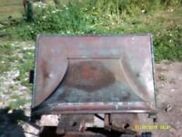 CAST IRON FIRE HOOD