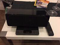 Sony SRS-GU10IP Speaker iPhone/iPod Dock Stereo - Black