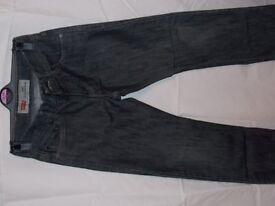 Boys Black Stonewash Levis 514 Slim Straight leg Jeans Age 10yrs Reg
