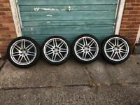 Audi 19 inch genuine alloy wheels