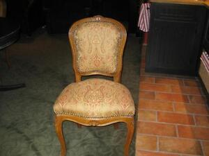 French fruit wood dining chairs -4